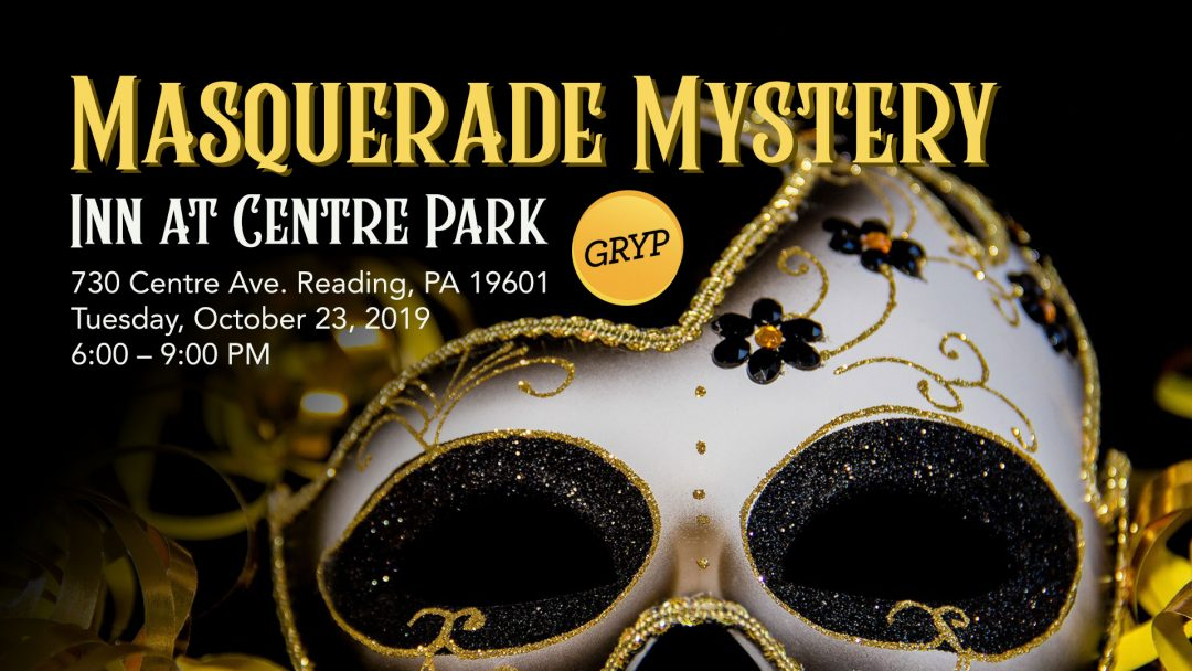 GRYP Masquerade Mystery Event